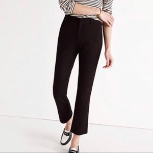 Madewell Black Cali Demi Boot Stretch Pants